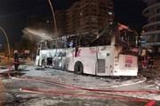 ببینید | سانحه مرگبار تصادف اتوبوس با ۲۲ کشته و زخمی در ترکیه