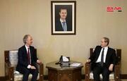فیصل مقداد خواستار خروج آمریکا و ترکیه از سوریه شد