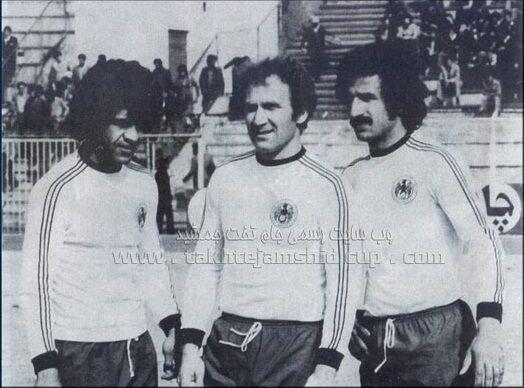 سه گلزن فراموش نشدنی فوتبال ایران در یک قاب/عکس