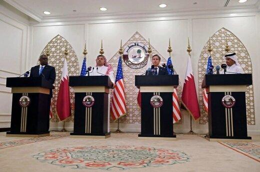 وزرای خارجه و دفاع آمریکا چرا به منطقه آمدهاند؟/زخم کهنهای که باز شده است/سعودی به حاشیه رانده شد،دوحه جای ریاض را میگیرد؟