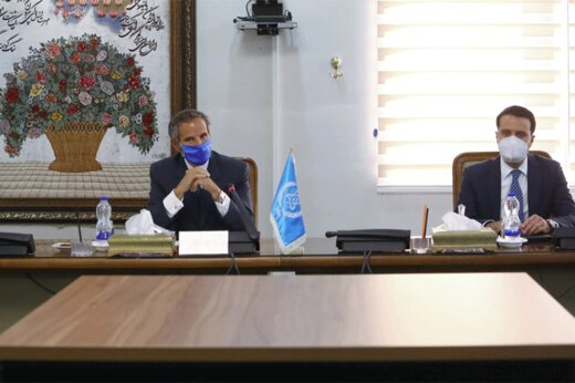 ببینید | ابراز خوشحالی گروسی از توافق در خصوص ادامه مذاکرات «وین»