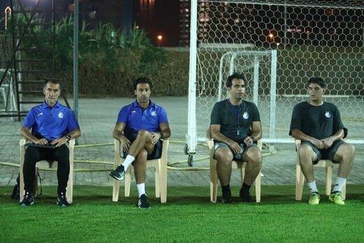 مجیدی در تمرین استقلال حاضر شد