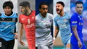 ترابی در بین ۸ ستاره لیگ قهرمانان آسیا/عکس