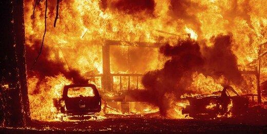 جهنم در کالیفرنیا؛ بایدن وضعیت «فاجعه» اعلام کرد
