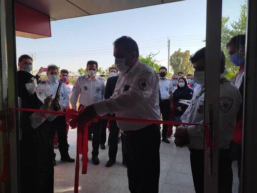 دومین مرکز شبانه روزی تزریق واکسن کووید ۱۹ در هلال احمر آبادان راه اندازی شد
