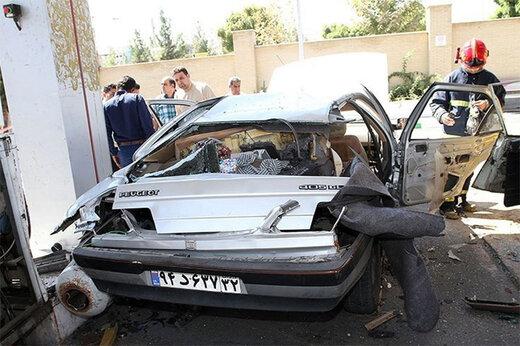 ببینید   انفجار مرگبار مخزن CNG در پمب گاز در مشهد
