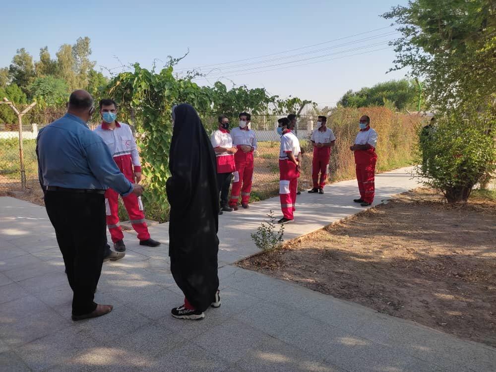 افتتاح دومین مرکز شبانه روزی تزریق واکسن کرونا در آبادان