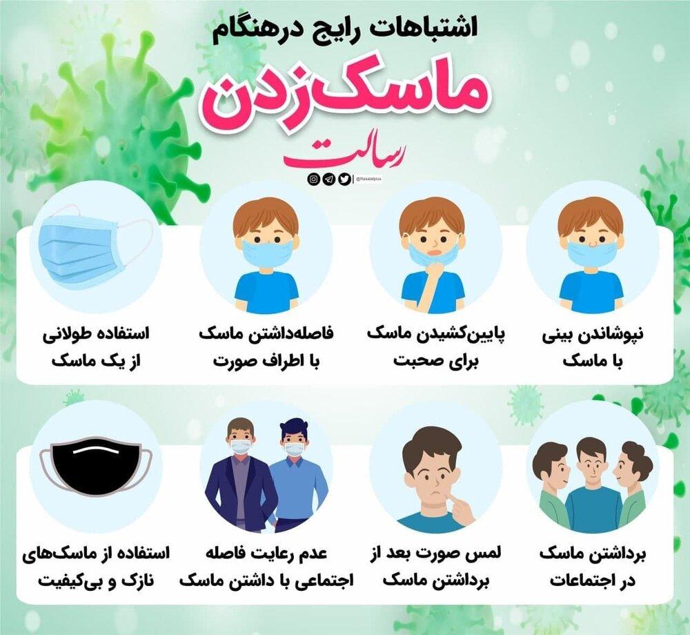 ببینید | ۸ اشتباهات رایج در هنگام ماسک زدن