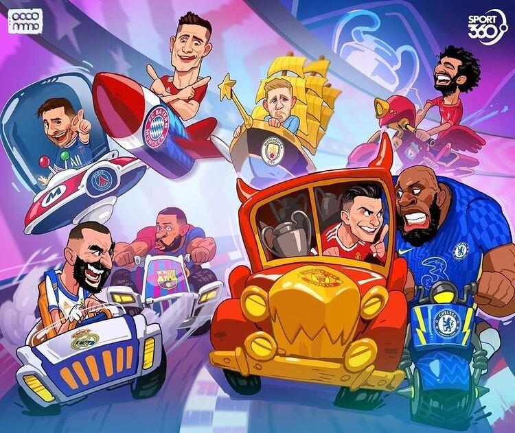 ببینید: رقابت ستارگان فوتبال اروپا آغاز شد!