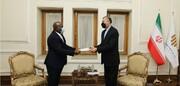دیدار سفیر آفریقای جنوبی با امیرعبداللهیان