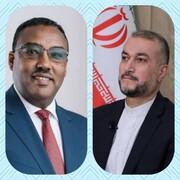 پیام وزیرخارجه اتیوپی به امیرعبداللهیان