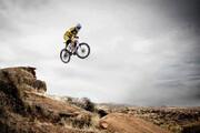 ببینید | تصویری دلخراش از آسیبدیدگی شدید یک دوچرخهسوار بدلکار