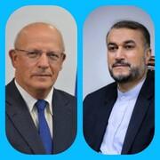 پیام تبریک وزیرخارجه پرتغال به امیرعبداللهیان