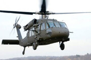 ببینید | تصاویری عجیب از برخورد نیروهای طالبان با  هلیکوپتر