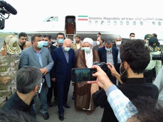 آغاز سفر یکروزه قالیباف در مازندران