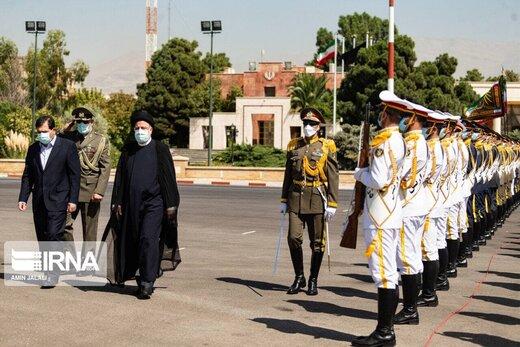 فریم به فریم عزیمت رييس جمهوری به تاجیکستان