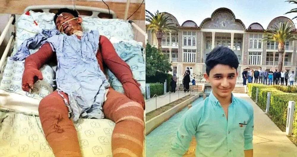 علی لندی نوجوان فداکار ایذهای از دنیا رفت