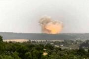 ببینید | وقوع انفجارهای شدید در عمق خاک عربستان