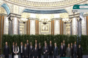 ببینید | عکس یادگاری سید ابراهیم رئیسی و رئیس جمهور تاجیکستان در اجلاس شانگهای