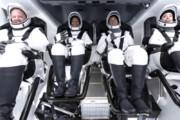 ببینید | پرواز موفقیت آمیز 4 خدمه غیرنظامی اسپیس ایکس به مدار