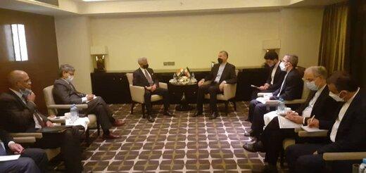 دیدار امیرعبداللهیان با وزیرخارجه هند