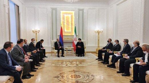 رئیسی: روابط ایران و ارمنستان همواره دوستانه و سازنده بوده است