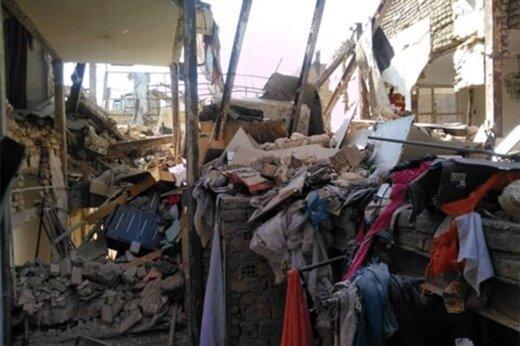 ببینید | انفجار مهیب در بازارچه شهرداری نظرآباد به دلیل نشتی گاز