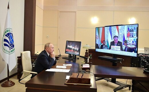 واکنش پوتین به عضویت ایران در شانگهای