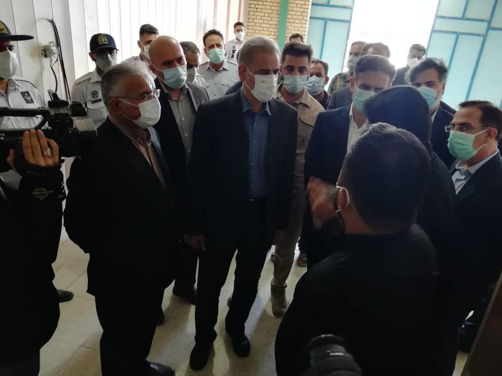 استاندار خوزستان در اروندکنار