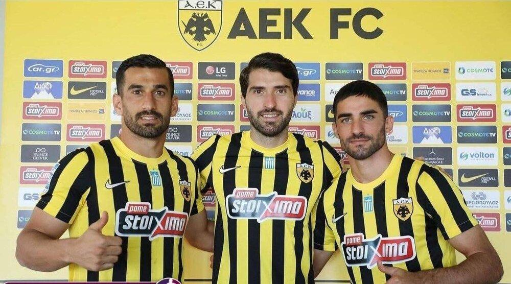 سه ایرانی در یونان! +عکس