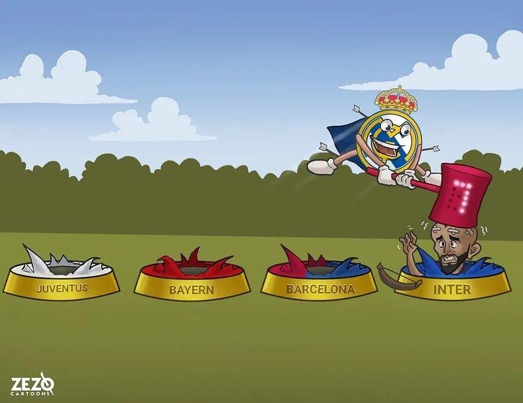 بدشانسیهای آبیدال مقابل رئال مادرید را ببینید!