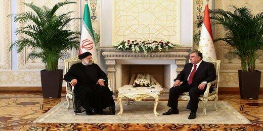 رئیسی: مقامات ایران و تاجیکستان، روابط دو کشور را به الگویی در سطح منطقه تبدیل کنند