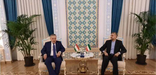 امیرعبداللهیان در دیدار وزیرخارجه تاجیکستان: برقراری ثبات و امنیت در افغانستان در سایه تشکیل دولت فراگیر است
