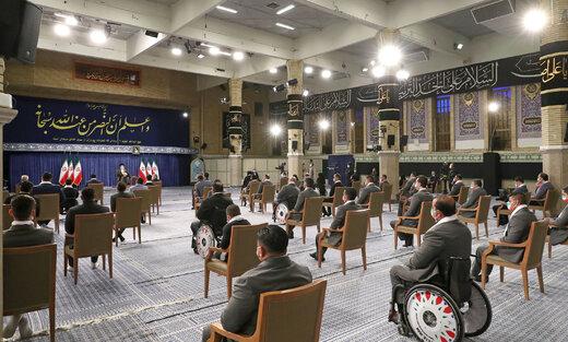 تصاویر   دیدار مدالآوران ایران در رقابتهای المپیک و پارالمپیک ۲۰۲۰ توکیو