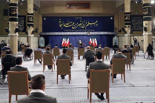تصاویر | دیدار مدالآوران ایران در رقابتهای المپیک و پارالمپیک ۲۰۲۰ توکیو با رهبر انقلاب