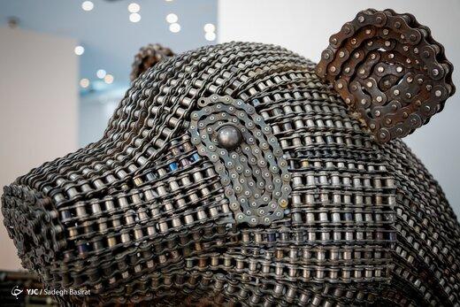 فریم به فریم، گشتی در باغ موزه فلزی ایران