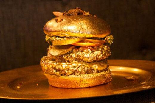 ببینید | رونمایی از ساندویچ ۳ میلیون دلاری در نمایشگاهی در آلمان