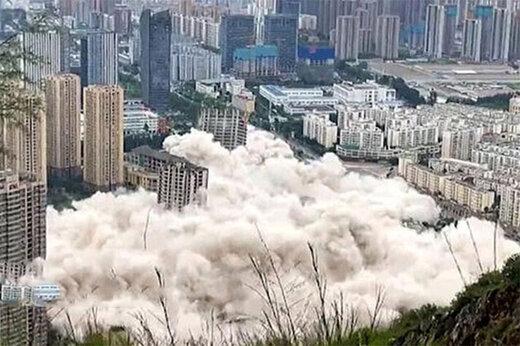ببینید  دود شدن ۱۵۴ میلیون دلار در ۴۵ ثانیه؛ تخریب همزمان ۱۵ برج در چین