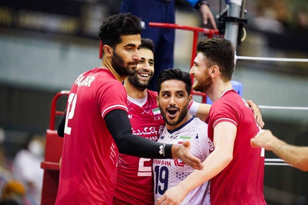انتقام والیبالیستهای ایران از ژاپن