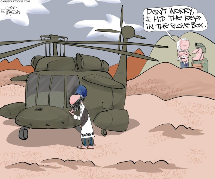 هدایای بایدن به طالبان را ببینید!
