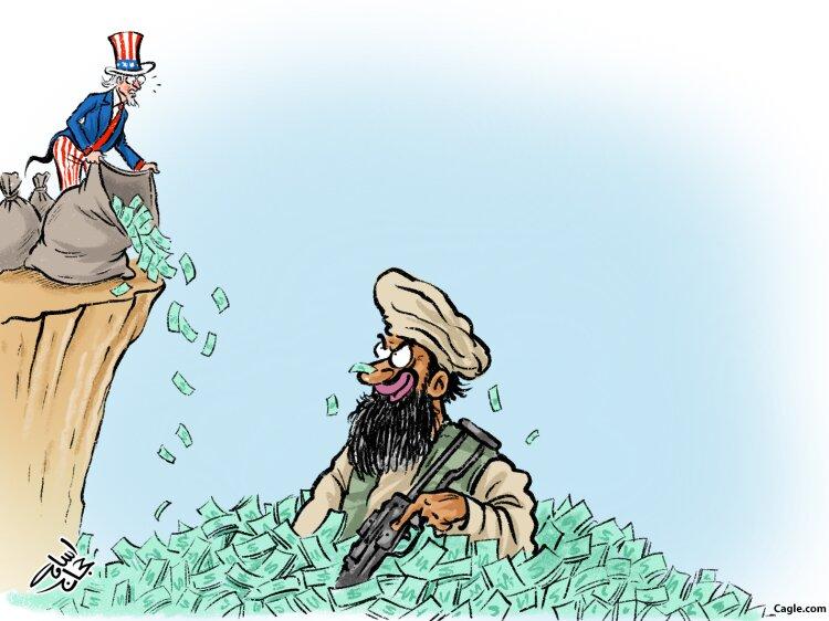 ببینید آمریکا طالبان را ثروتمند کرد!