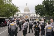 تجمع حامیان ترامپ مقابل کنگره آمریکا در میان تدابیر شدید امنیتی