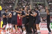ببینید | شادی بازیکنان و کادر فنی تیم ملی والیبال ایران پس از قهرمانی در آسیا