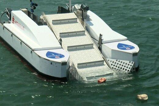 ببینید   رونمایی از قایقهای کنترل از راه دور جهت جمعآوری زبالههای دریایی