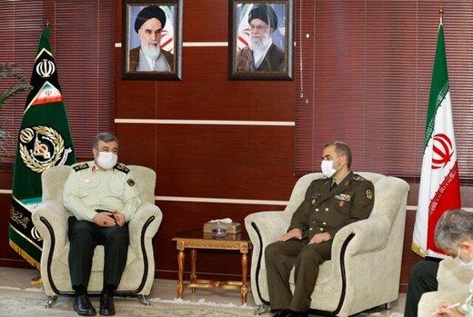 جزییات دیدار امیر آشتیانی با فرمانده نیروی انتظامی/فصل جدید همکاری خواهیم داشت