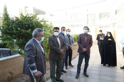 بازدید اعضای شورای شهر از پروژه های عمرانی سازمان فرهنگی شهرداری یزد