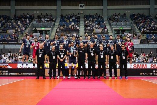 تمجید فدراسیون جهانی والیبال از ایران