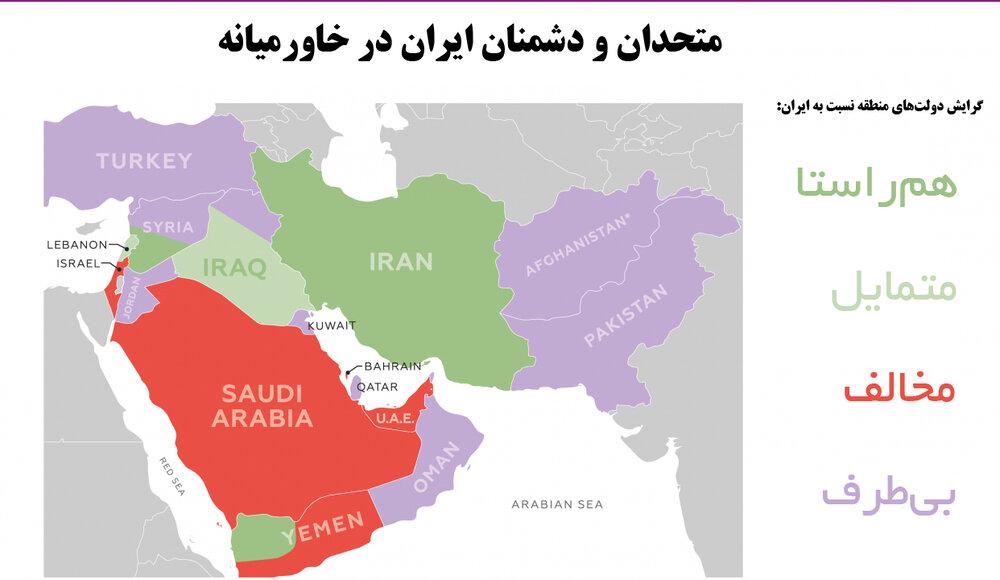 نقش ایران در نظم جدید منطقهای چیست؟
