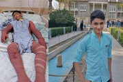 ببینید | پیگیری فوری درمان نوجوان 15 ساله ایذهای