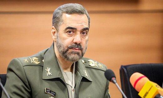 واکنش وزیر دفاع به یاوه گوییهای اخیر سران رژیم صهیونیستی